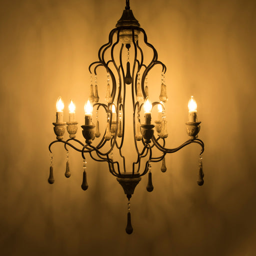 Rustic Light Chandelier (8 arms)