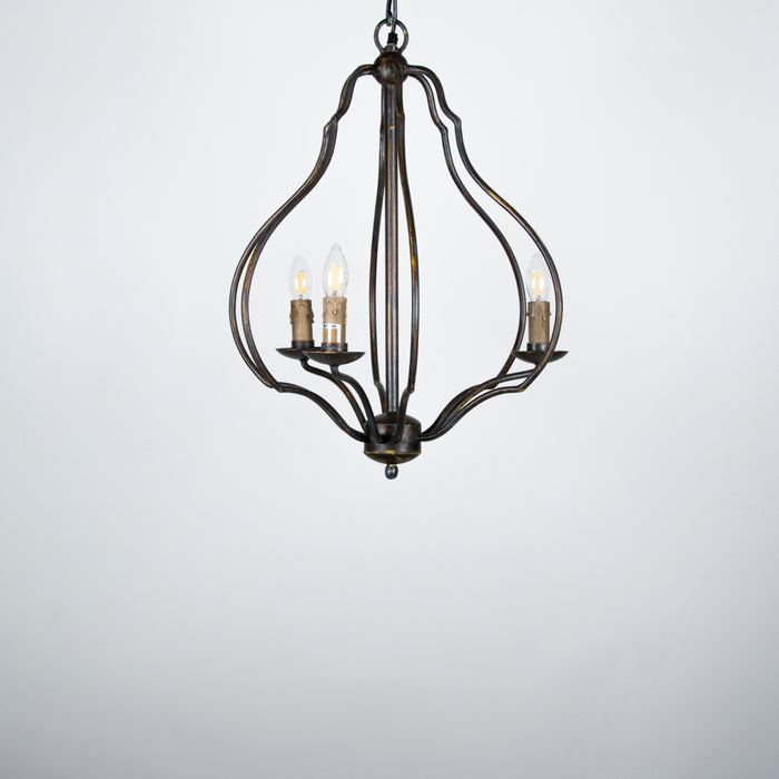 Tulip Chandelier (3 arms)