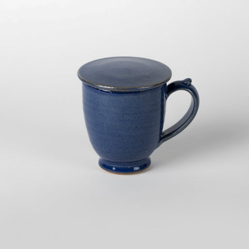 Cerulean Blue Mug (with lid)