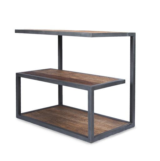 Metal Frame Side Table