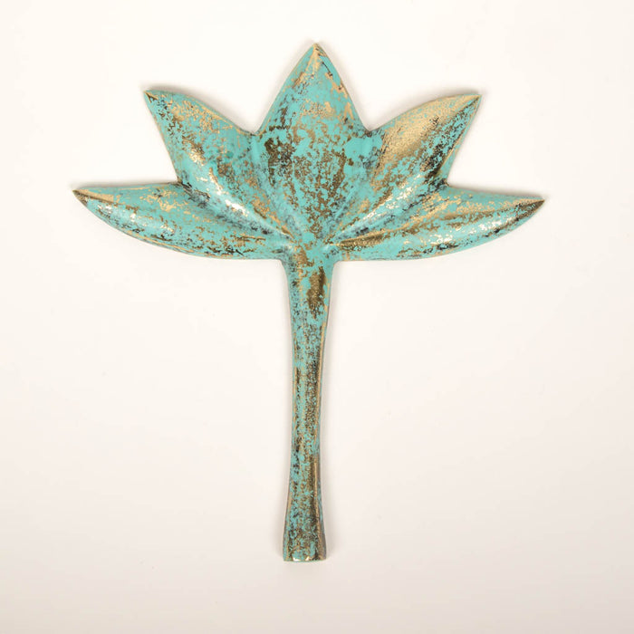 Peace Metal Lotus (Patina)
