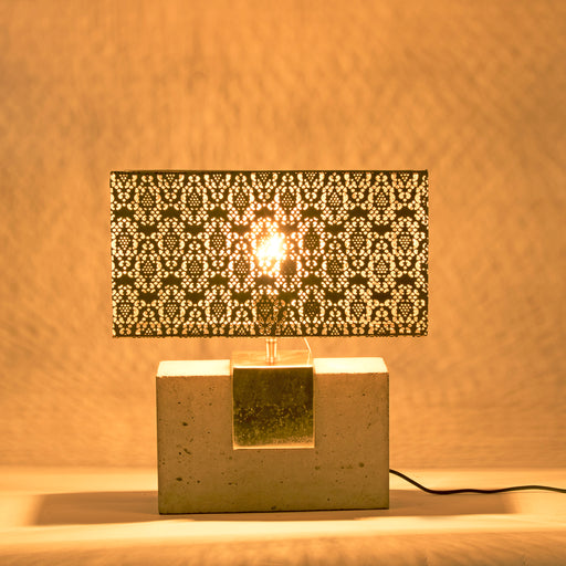 Cubelike Table Lamp