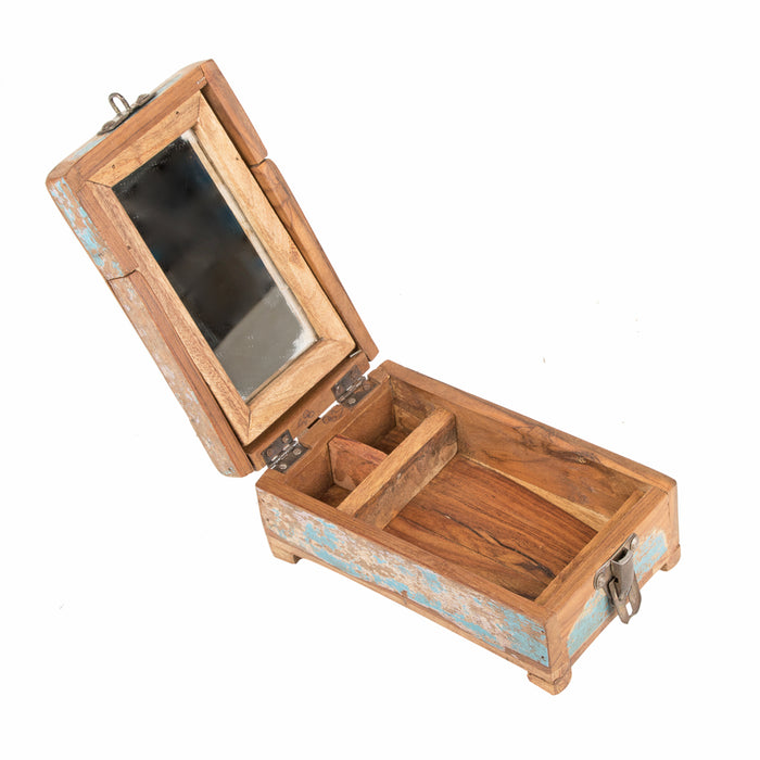 Rustic Grooming Kit (Wooden box)