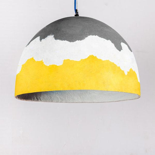 Illuminate Relic Pendant Lamp (Mustard Gradation) (Big)