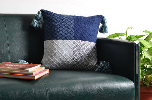 Greece Geometric blocks Cushion Cover