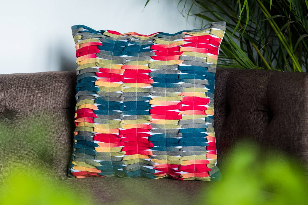 Samarkand Laces Cushion Cover
