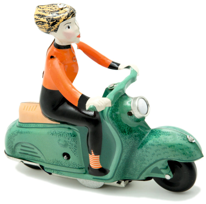 Green Scooter Girl