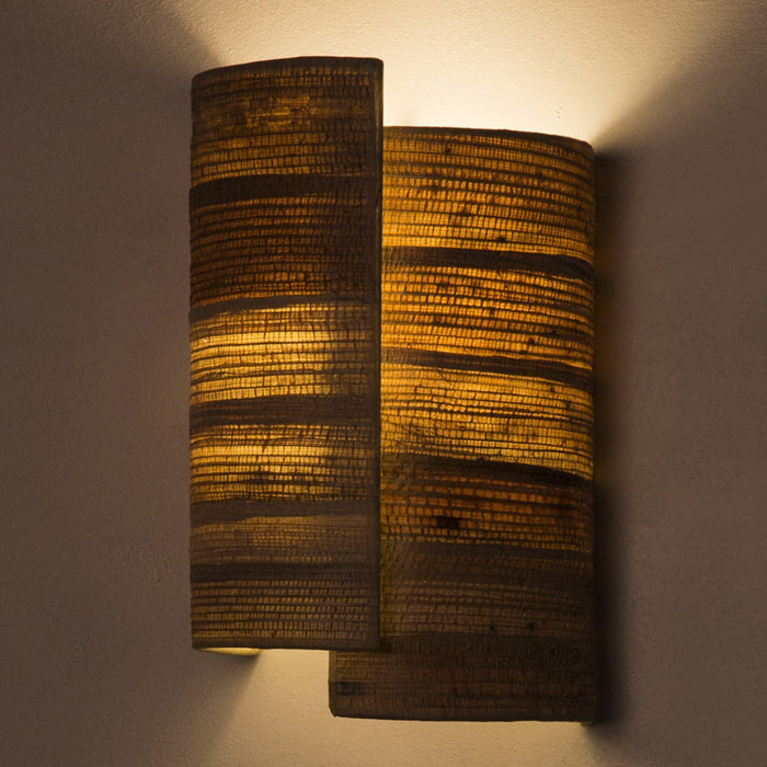 Skyline Bark Wall Lamp