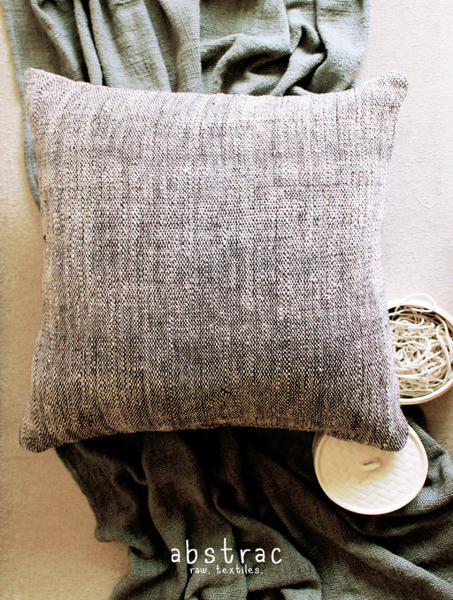 Charcoal Slub Cushion Cover
