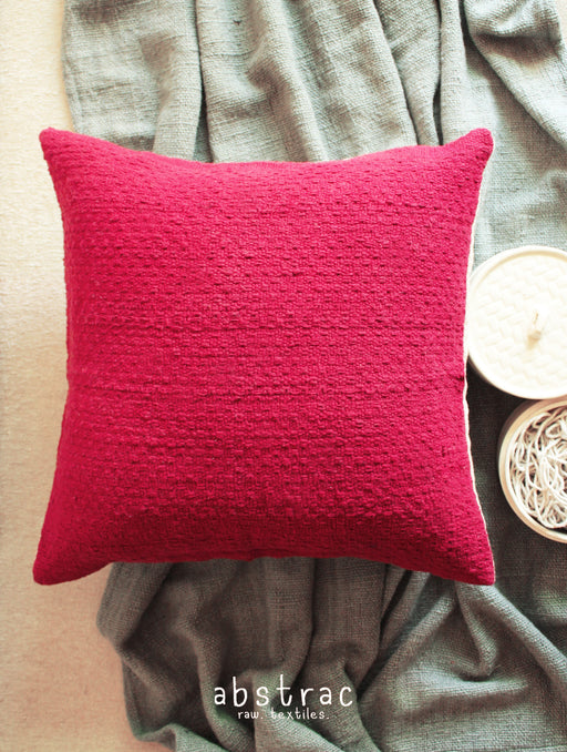 Hugo Cushion Cover (Maroon)
