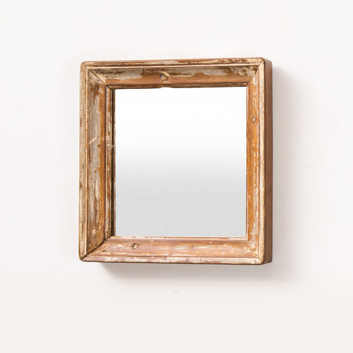 Square Wooden Mirror Frame