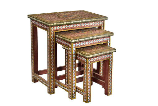Wooden Stools   (SET OF 3)