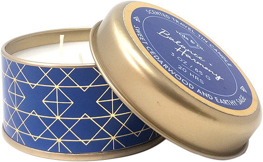 Travel tin-Cedarwood Candle