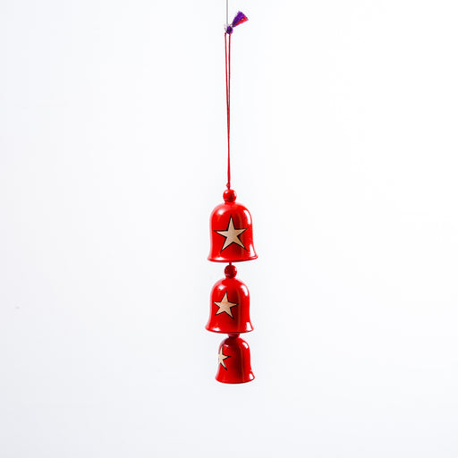 Christmas Ornament Star Bell Set