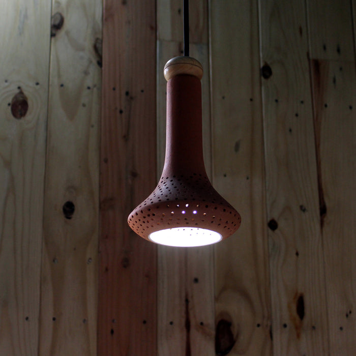 Fountain Terracotta Pendant Lamp