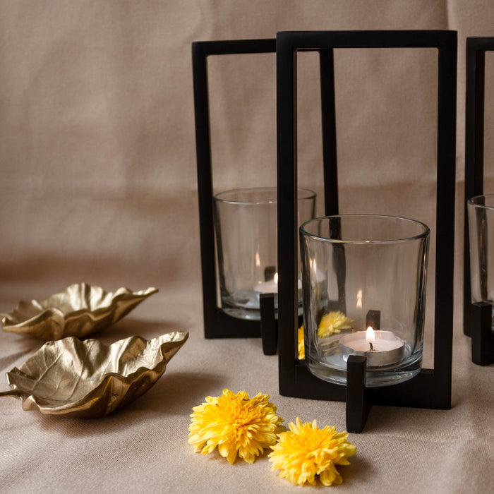 Candle Holder (Black)