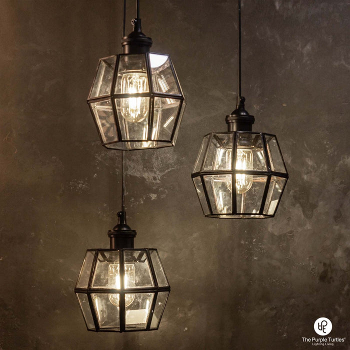 Hanging Glass Pendant Lamp