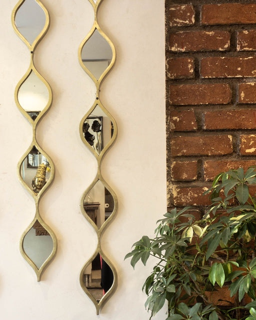 Waves Mirror Wall Decor