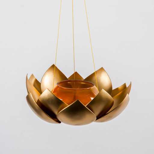 Hanging Lotus Candle Holder