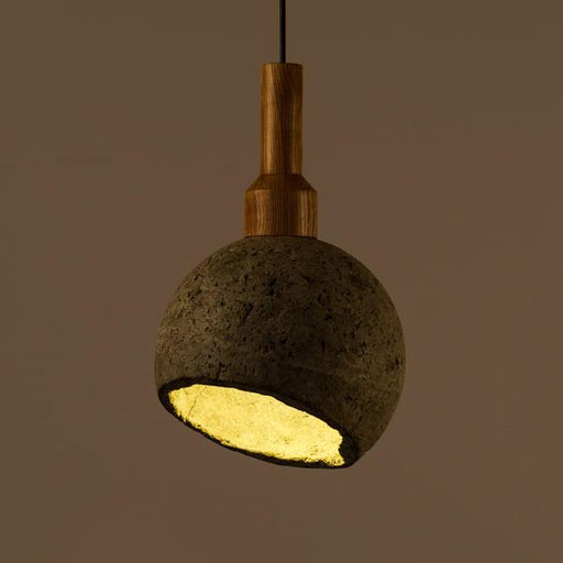 Woodlot Arciform Pendant Light