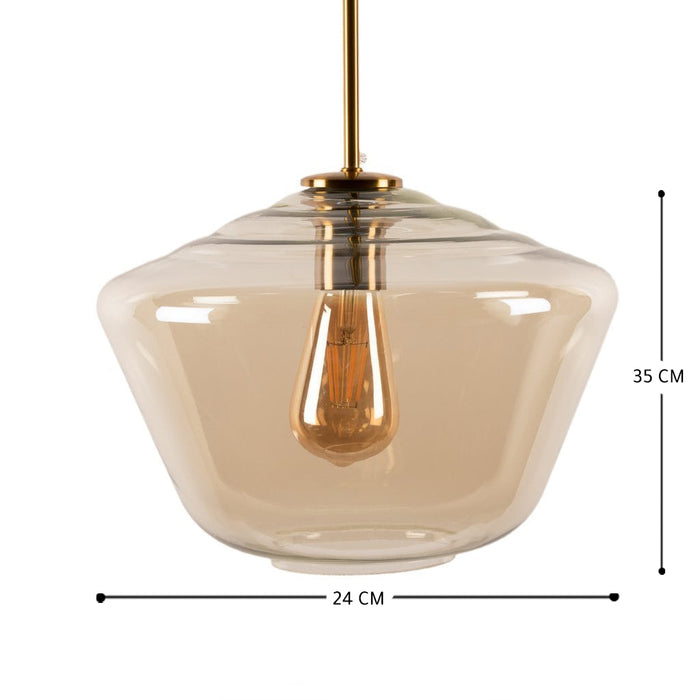 Baxter Glass Pendant Lamp