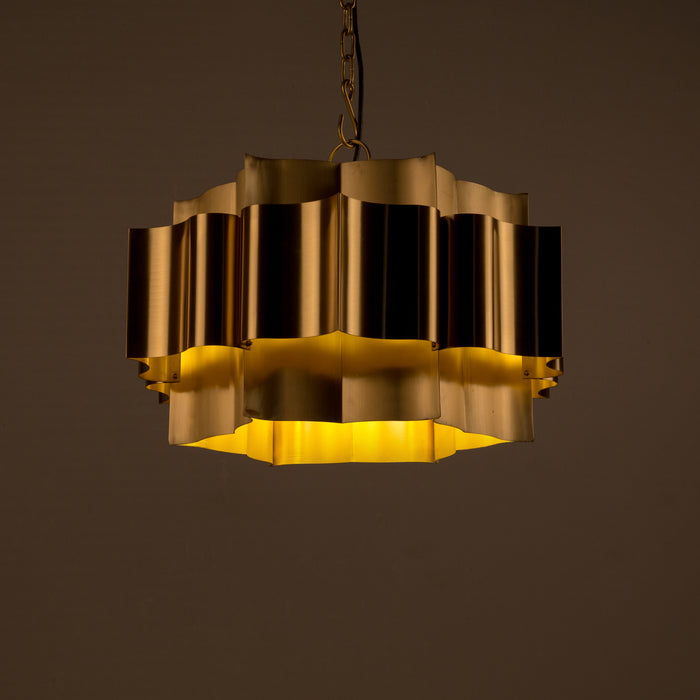 Lotus Two Layer Chandelier