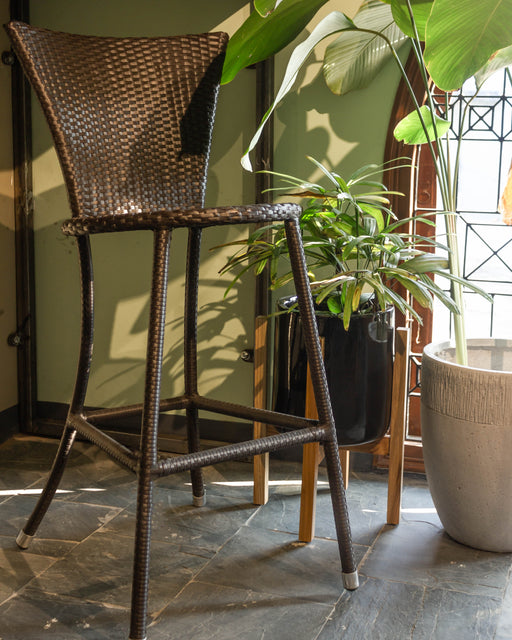 Wicker Bar Stool