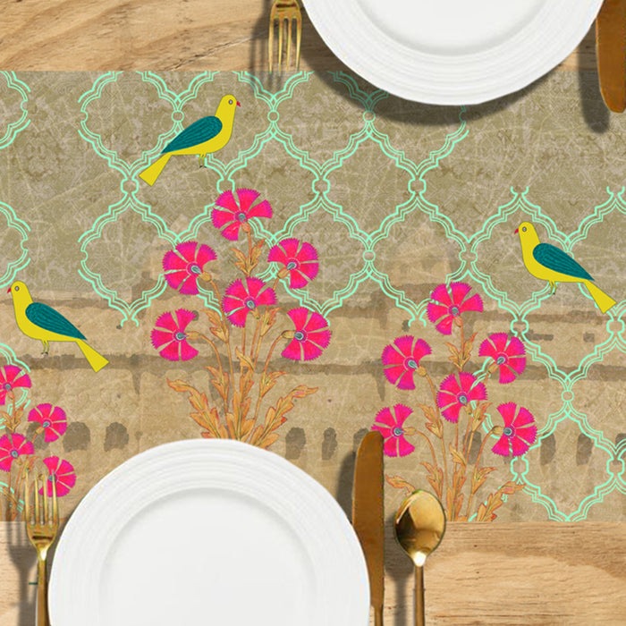 Chidiya Table Runner