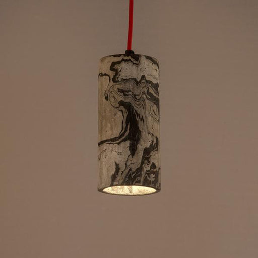 Graphite Dappled Icicle Pendant Lamp