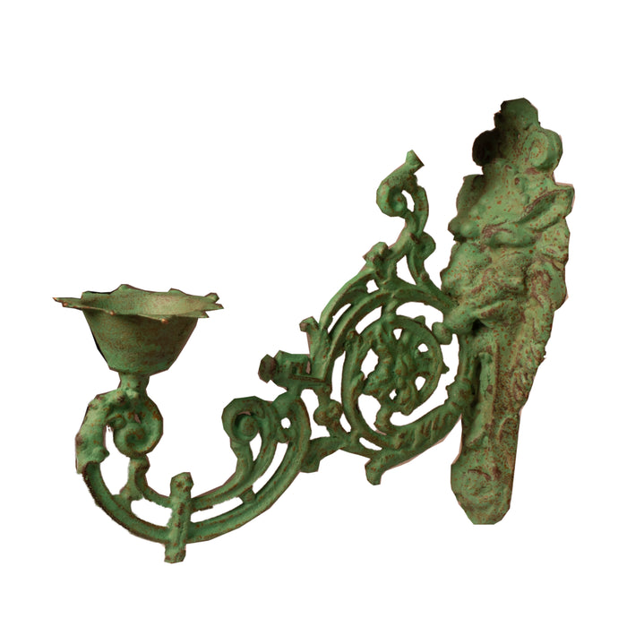 Cast Iron Planter Stand (Green)