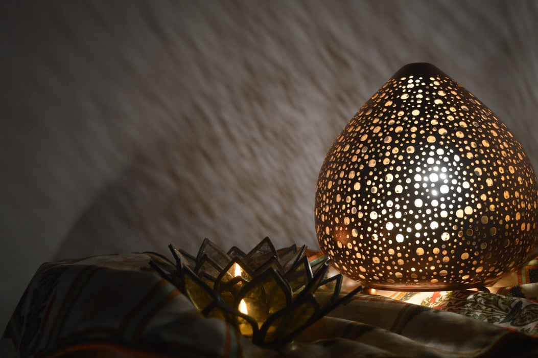 Iron Jali Lamp