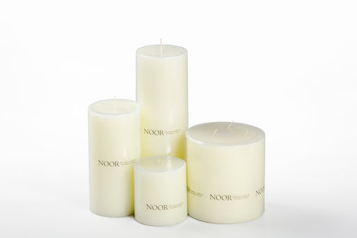 Noor Pillar Candle