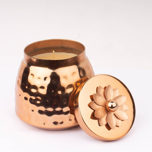 Cooper Copper Candle (Mogra)