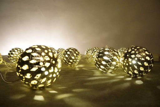 Gold Ball Rice Lights
