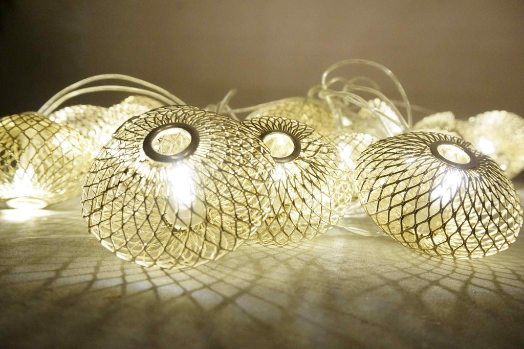 Mesh Ball Rice Lights