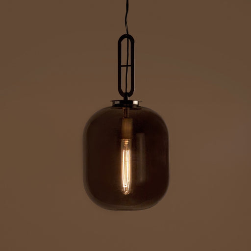 Tyla Smoky Glass Pendant Lamp