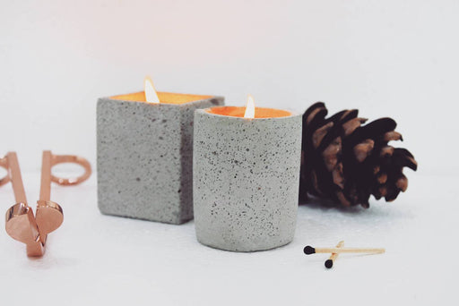 Joy Candle (Set of 2 - White)