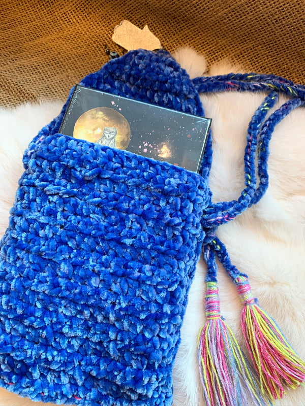 Handcrafted Crochet Tarot/Oracle Card Bag
