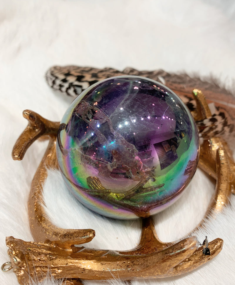 Aura Dream Amethyst Sphere