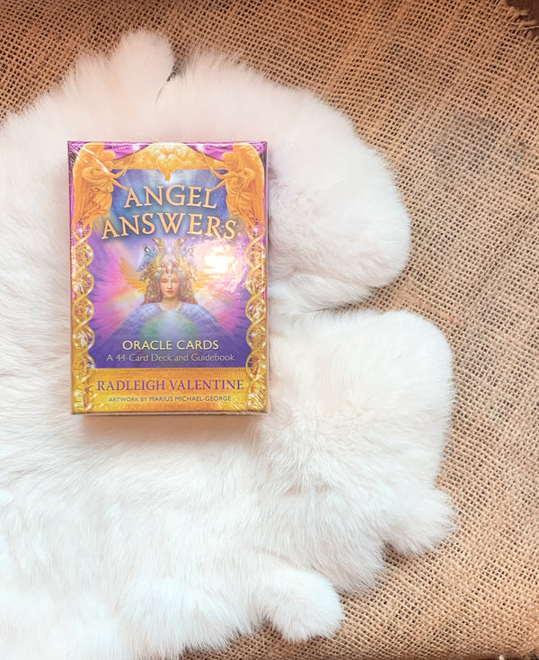 Angel Answers Oracle Deck - A 44-Card Deck and Guidebook