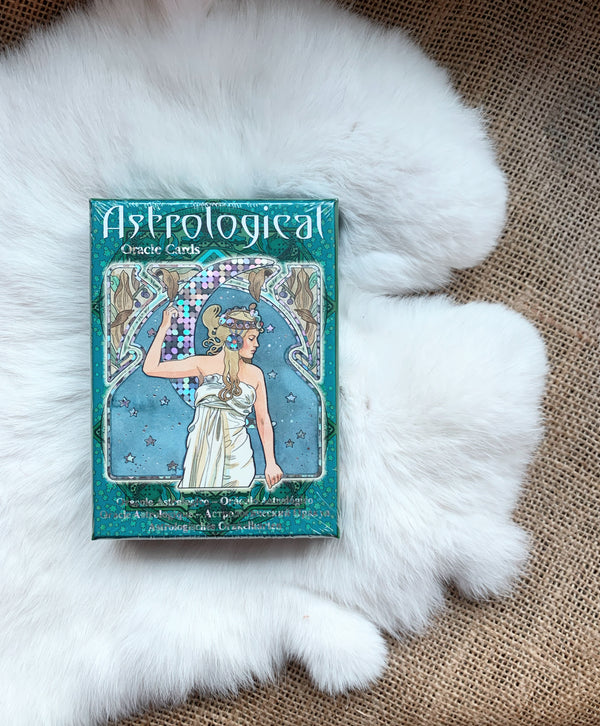 Astrological Oracle Cards ( Deck and Book )