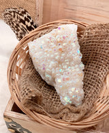 Angel Aura Quartz Cluster - Palm-Sized