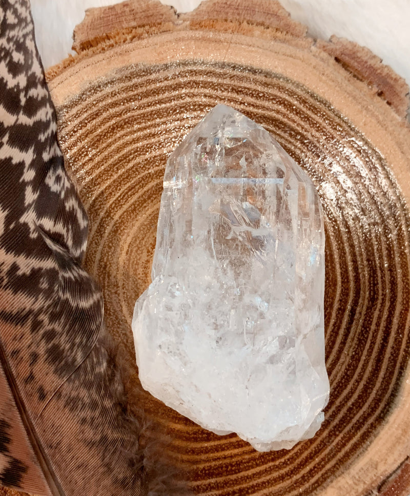 Himalayan Quartz Natural Rough Point Crystal