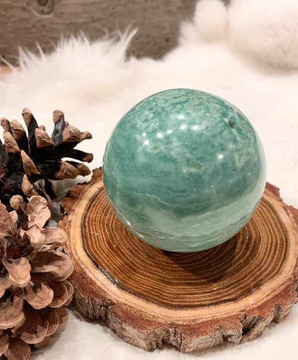 Indian Turquoise Sphere