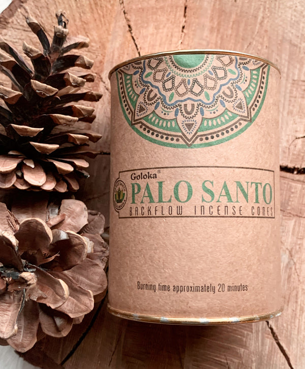 Palo Santo Backflow Incense