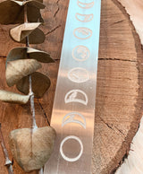 Selenite Moon Phase Charging Plate