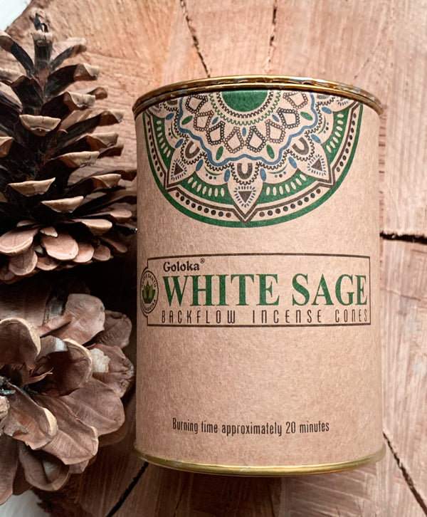 White Sage Backflow Incense