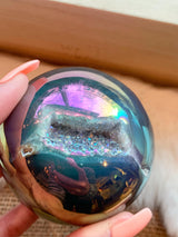 Angel Aura Geode Sphere
