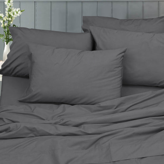 Essential Percale - Boston Linen Co. Bed Sheet Set