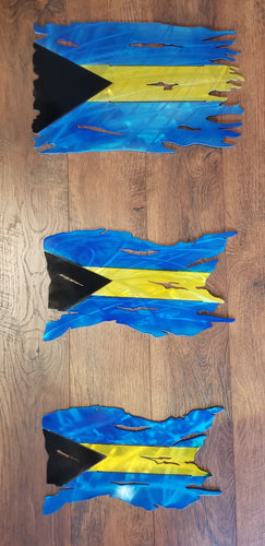 ALUMINUM BAHAMIAN FLAG- SPECIAL PRICING FOR WEST PALM SEAFOOD FESTIVAL